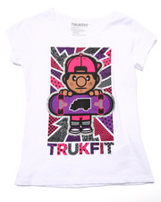 Girls - LIL' TOMMY SKATER TEE (7-16)
