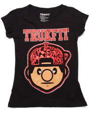 Girls - LIL' TOMMY LEOPARD TEE (7-16)