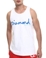 Diamond Supply Co - OG Script Tank