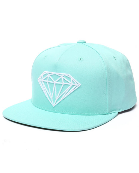 Diamond Supply Co Men Brilliant Snapback Cap Teal - $40.00