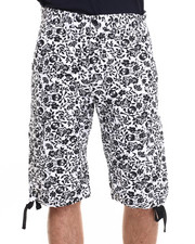 Basic Essentials - Skull / Flower Shorts