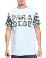 Basic Essentials - Paradise Printed S/S Tee