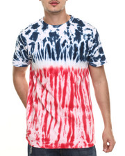 Basic Essentials - Kaleidoscope U S A Tie - Dye S/S Tee