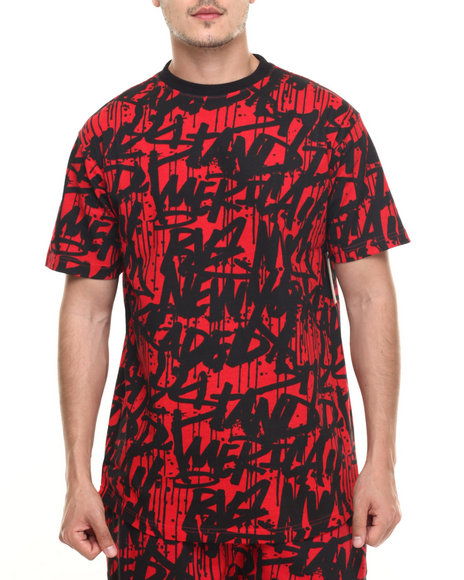 Ur-ID 218972 Basic Essentials - Men Red Tag Da City S/S Tee