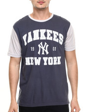 American Needle - New York Yankees Gym Class mesh detailed s/s tee