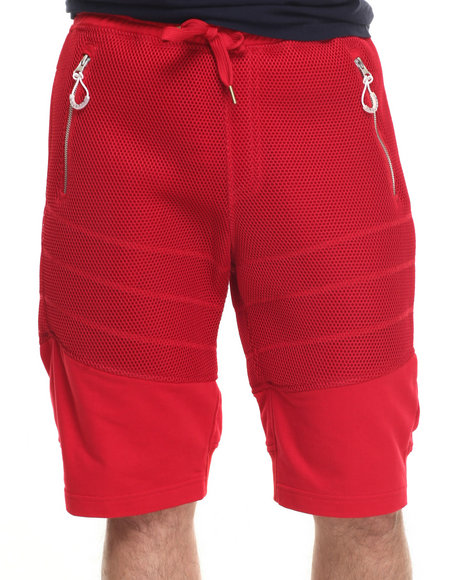 Allston Outfitter - Men Red Honey Comb Mesh Short