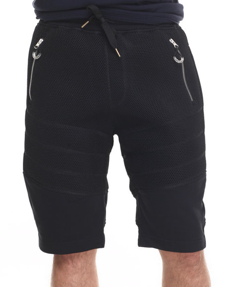 Allston Outfitter - Men Black Honey Comb Mesh Short
