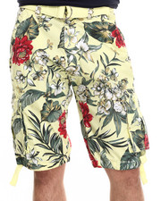 Shorts - Get Leid Belted Shorts