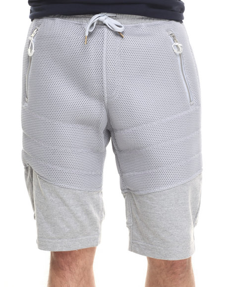 Allston Outfitter - Men Grey Honey Comb Mesh Short