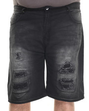 Men - Wash Denim Shorts (B&T)