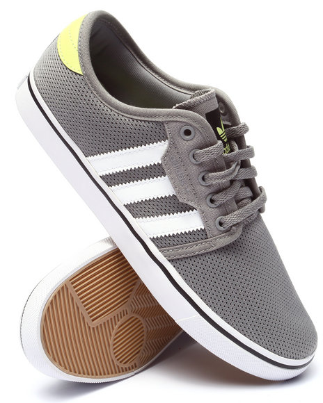 Adidas - Men Grey Seeley Mesh Low - $45.99