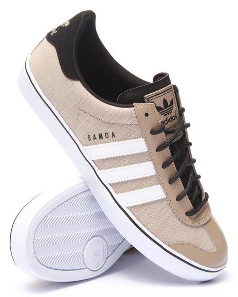 Ur-ID 219000 Adidas - Men Khaki Samoa Vulc Lo