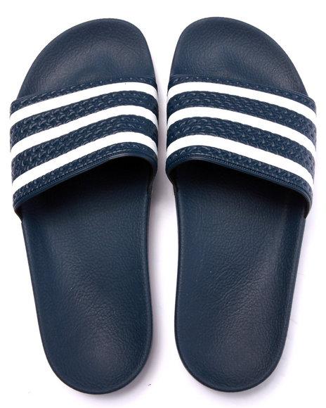 Ur-ID 219027 Adidas - Men Navy Adilette Slide Sandals