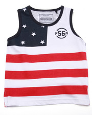 Tops - STARS & STRIPES TANK (2T-4T)