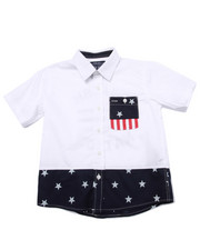Sizes 4-7x - Kids - STARS & STRIPES WOVEN (4-7)