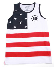 Tops - STARS & STRIPES TANK (8-20)