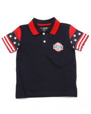 Tops - STARS & STRIPES POLO (2T-4T)