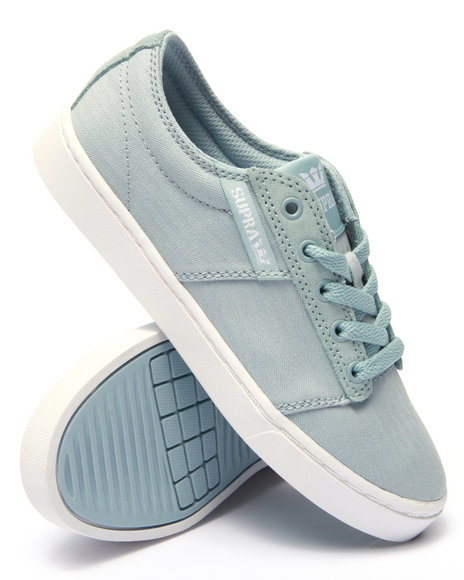 Ur-ID 219038 Supra - Women Blue Stacks Ii Canvas And Suede Sneaker