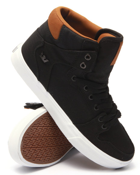 Supra - Men Black Vaider Sneakers