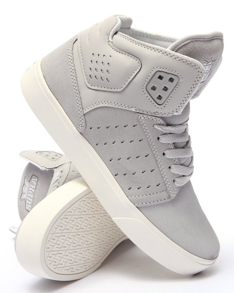 Supra - Men Light Grey Atom Sneakers
