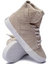 Women - Skytop Cream Suede Sneaker