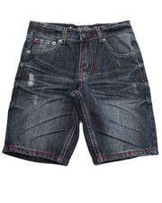 Shorts - STARS & STRIPES DENIM SHORTS (8-20)