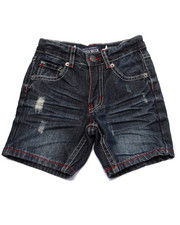 Shorts - STARS & STRIPES DENIM SHORTS (4-7)