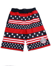 Shorts - STARS & STRIPES SHORTS (8-20)