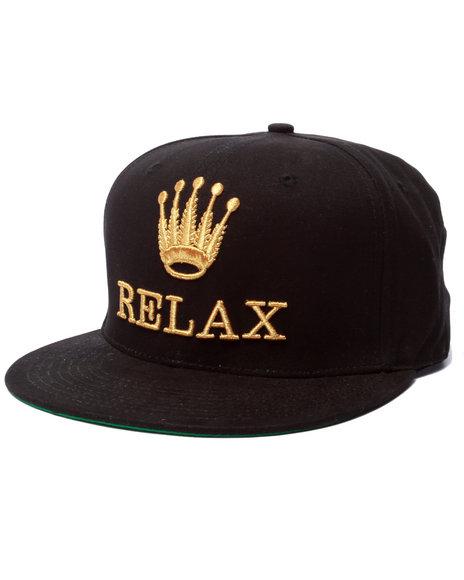 Ur-ID 223249 Buyers Picks - Men Black Relax Snapback Hat