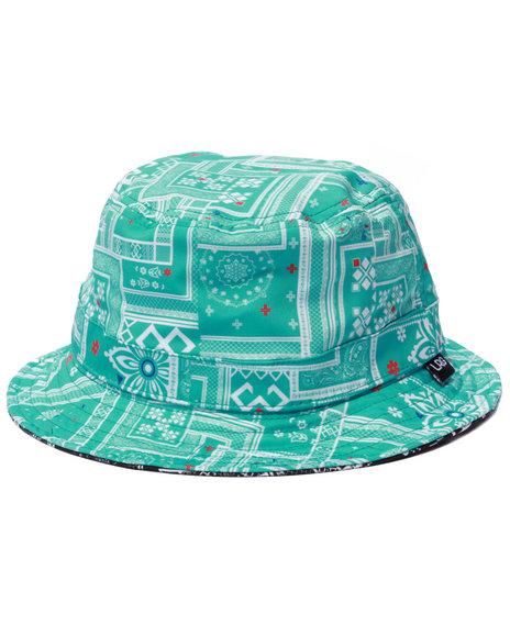 Ur-ID 223251 LRG - Men Black Lof Lifted Reversible Bucket Hat