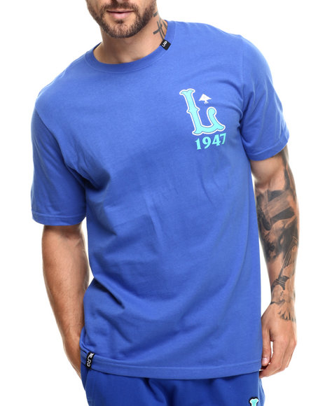 LRG - Men Blue L 1947 T-Shirt