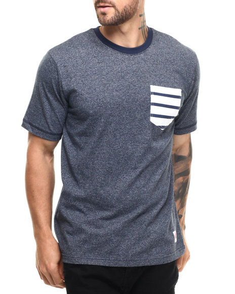 LRG - Men Navy Enfield T-Shirt