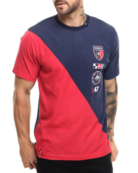 LRG - Men Navy Captin T-Shirt