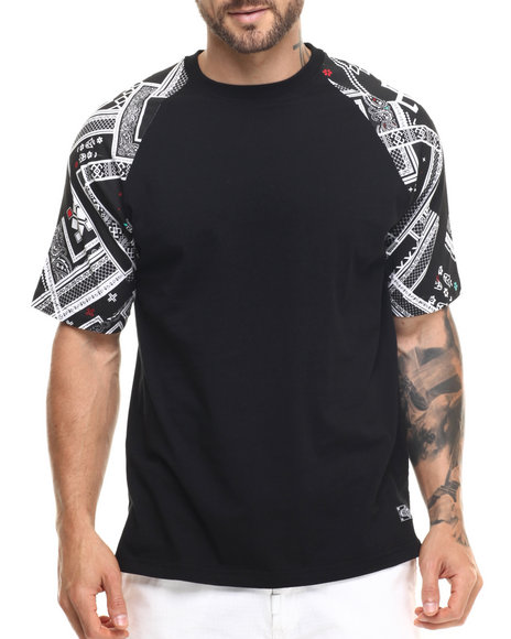 LRG - Men Black Borracho T-Shirt