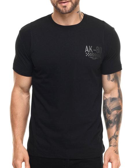 Ur-ID 219088 AKOO - Men Black Destination S/S Knit Tee