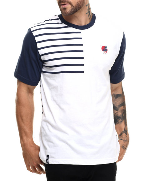 LRG - Men Navy, White Research & Rescue T-Shirt