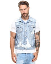 Men - Jimmy Bleached Vest