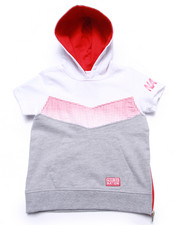 Sizes 2T-4T - Toddler - HALF TONE HOODED PULLOVER (2T-4T)
