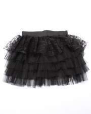 Sizes 4-6x - Kids - Lace/Tulle Tiered Ruffle Skirt (4-6x)