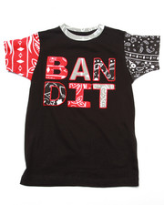 Sizes 8-20 - Big Kids - PAISLEY BANDIT TEE (8-20)