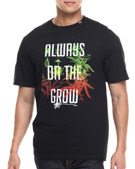 LRG - Men Black Always On The Grow T-Shirt