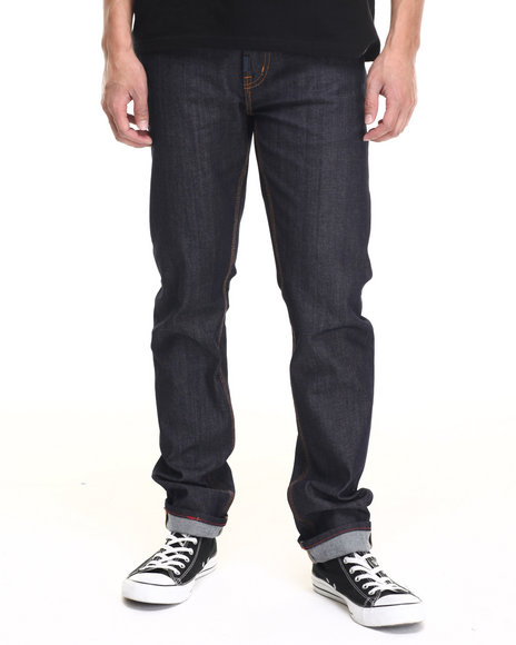 Ur-ID 219115 LRG - Men Dark Wash Core Lrg Skinny Denim Jeans