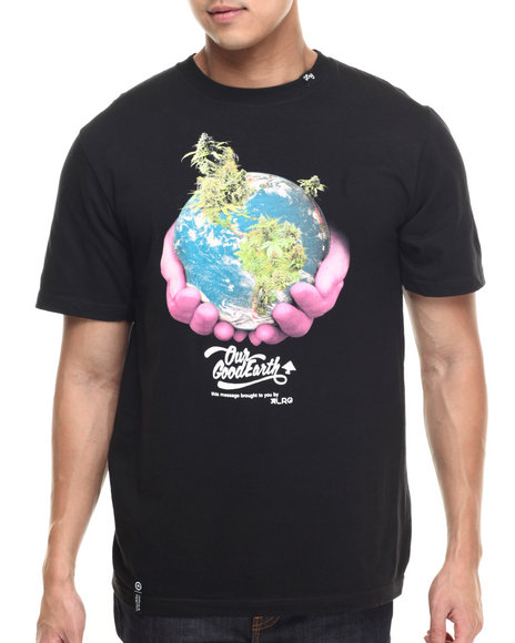 LRG - Men Black Our Good Earth T-Shirt