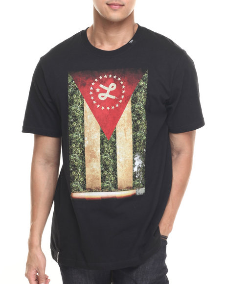 LRG - Men Black Cigaro T-Shirt
