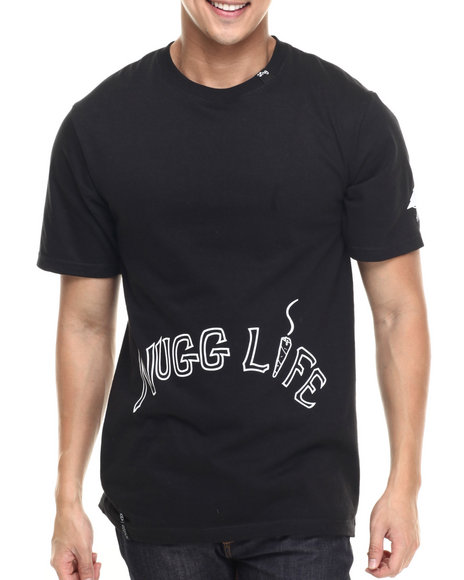 LRG - Men Black Nugg Life T-Shirt