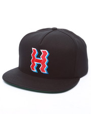 Men - Crooked H Snapback Cap