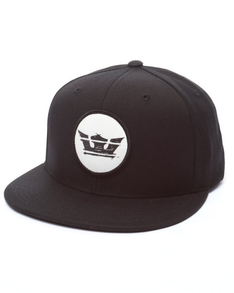 Supra Men Sketchy Icon Snapback Cap Black