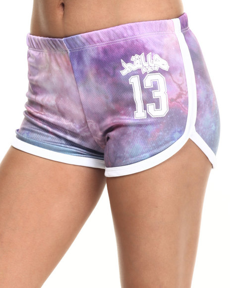 Ur-ID 219089 Hellz Bellz - Women Purple Shorty Shorts
