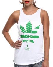 Women - Weed Merica Muscle Tank