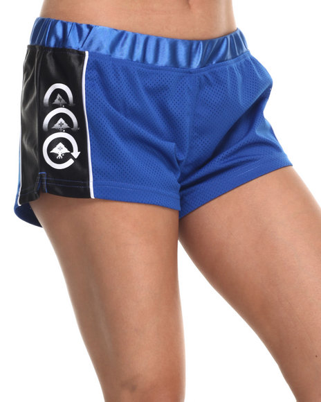 Lrg - Women Blue Force 47 Short